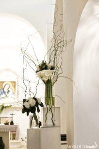 Allestimento interno del Santuario della Madonna di Ibernia